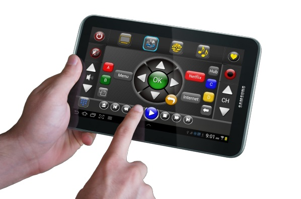 Tablet as new remote