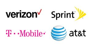 various mobile networks that have error