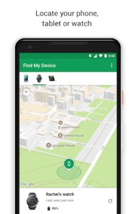 How to find your android device