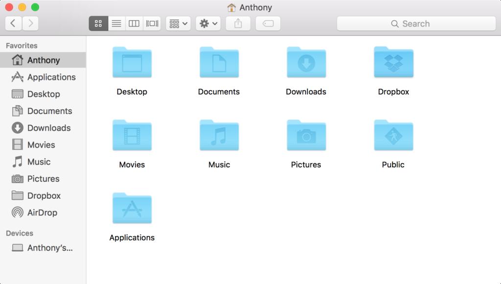 new mac finder window